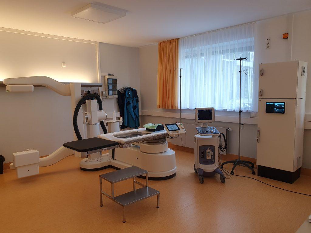 Endourologische Arbeitsplatz, Urologie, Stosswelle, Lithotripsie, ESWL, Niernsteine, Harnsteine, OP, Storz Medical, PEROmed
